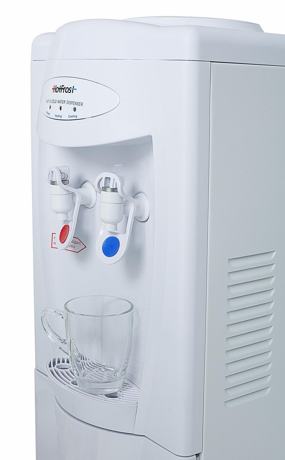 Кулер для воды с холодильником HotFrost V208B - 3