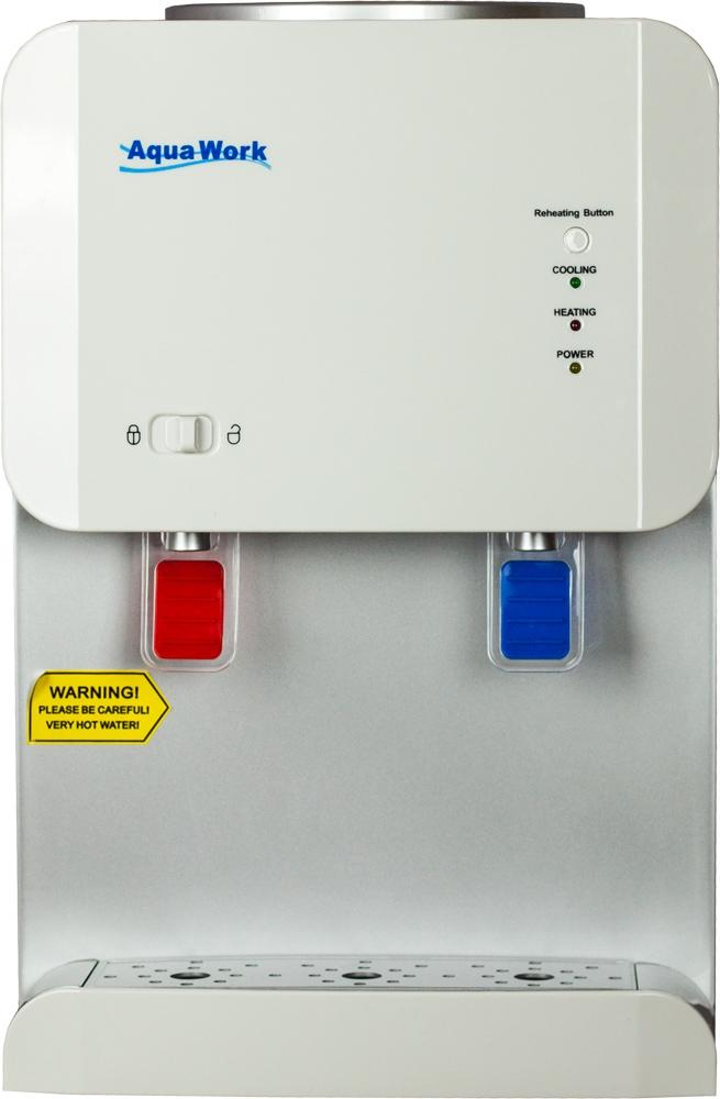 Кулер для воды Aqua Work 105-TD белый - 3