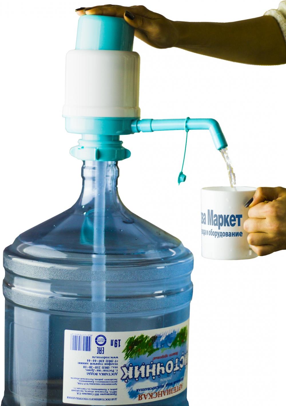Помпа для воды Aqua Work Дельфин Эко синяя - 4