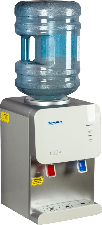 Кулер для воды Aqua Work 105-TD белый - 7