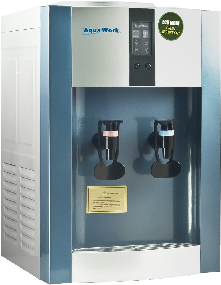 Кулер для воды Aqua Work 16-T/EN-ST синий - 1