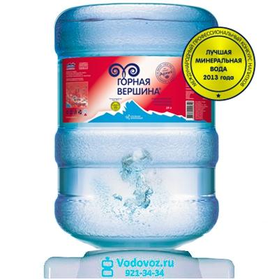 Вода Горная вершина 19 литров - 1