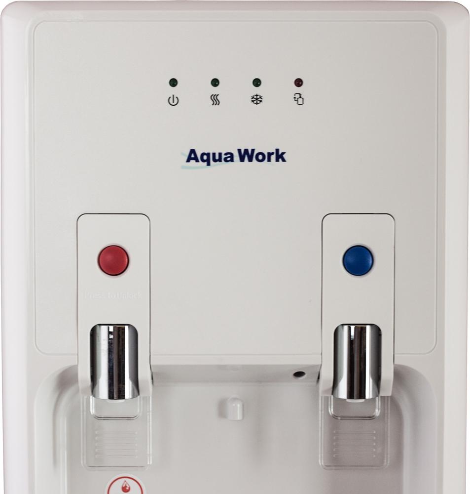 Кулер для воды Aqua Work 1447-S белый - 8