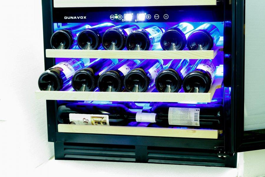Винный шкаф Dunavox DX-51.150DBKDP - 10