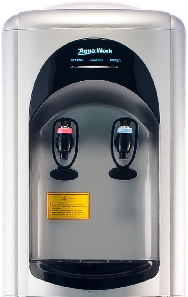 Кулер для воды Aqua Work 16-L/HLN серебро - 2