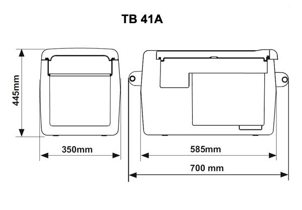 Автохолодильник компрессорный Indel B TB41A - 6