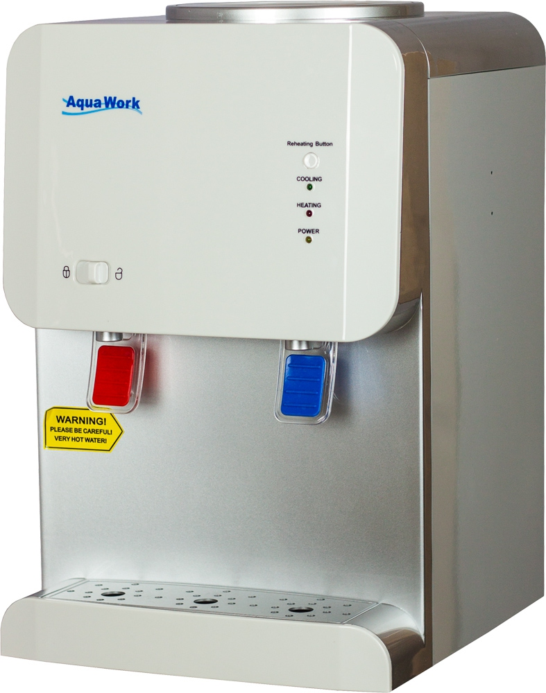 Кулер для воды Aqua Work 105-TD белый - 2