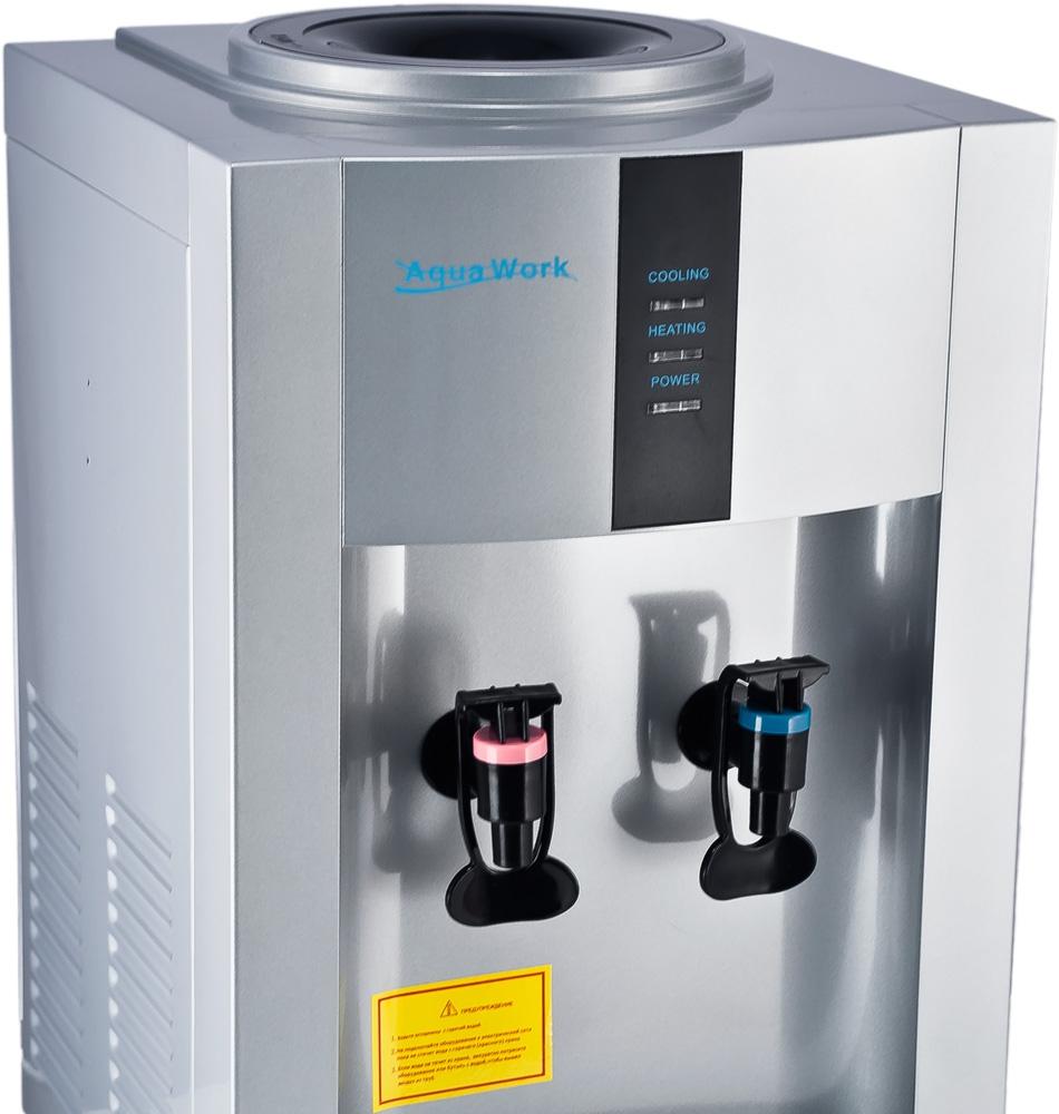 Кулер для воды Aqua Work 16-TD/EN серебро - 5