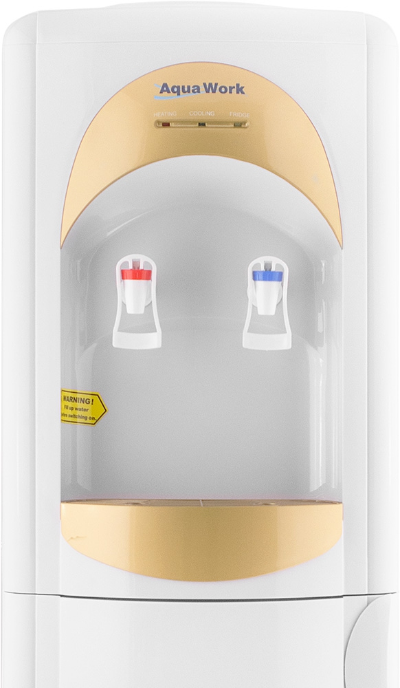 Кулер для воды Aqua Work 28-L-B/B золотистый - 4