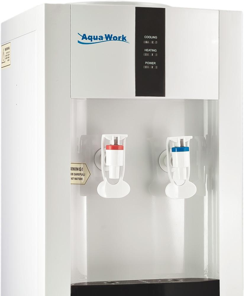 Кулер для воды Aqua Work 16-L/EN белый - 4