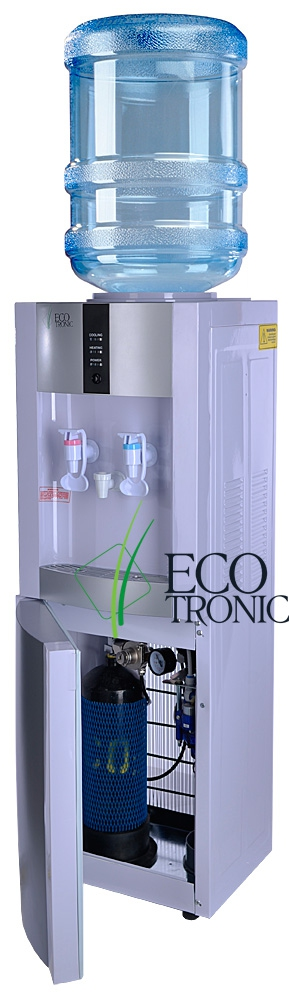 Кулер Ecotronic H1-L CARBO White - 6