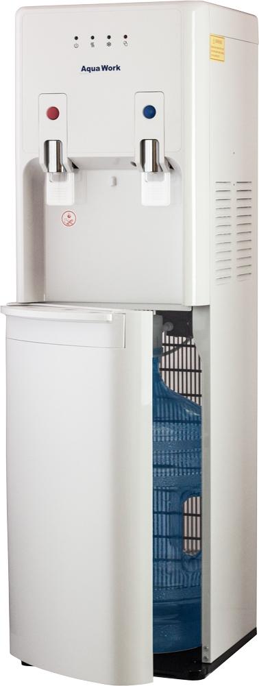 Кулер для воды Aqua Work 1447-S белый - 1