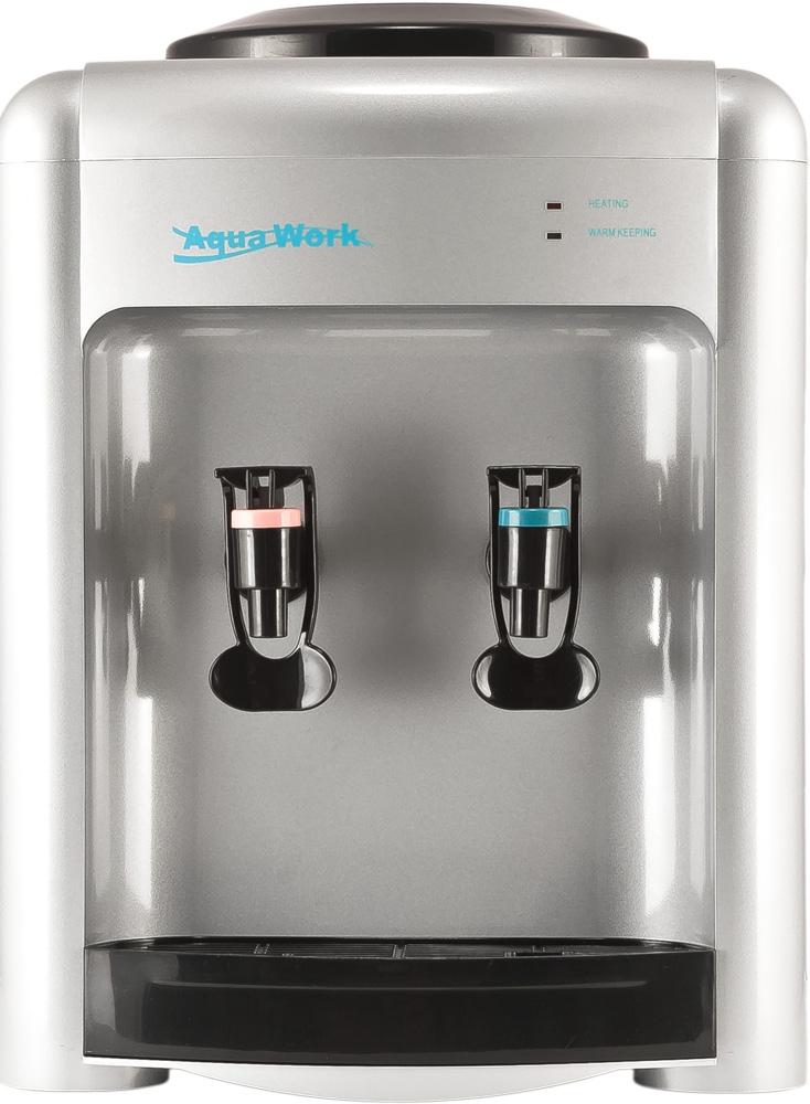 Кулер для воды Aqua Work 36-TDN серебро - 3
