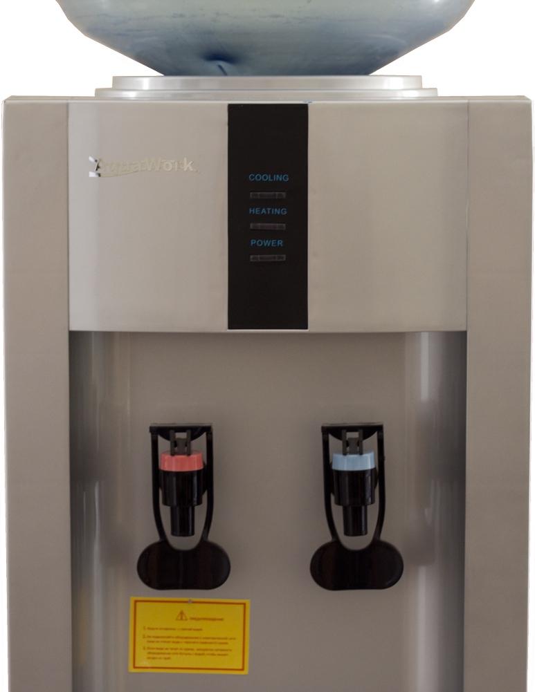 Кулер для воды Aqua Work 16-L/EN серебро - 6