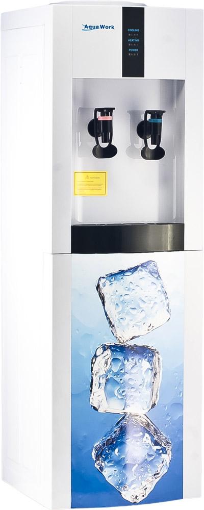 Кулер для воды Aqua Work 16-LD/EN Кубики льда дизайнерский - 1