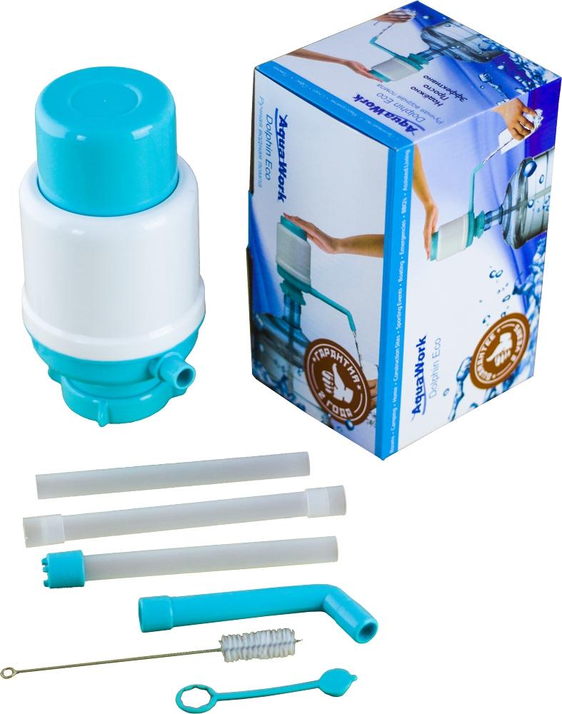 Помпа для воды Aqua Work Дельфин Эко синяя - 2