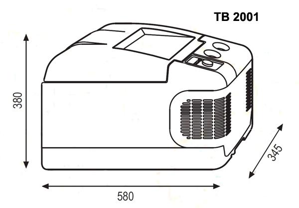 Автохолодильник компрессорный Indel B TB2001 - 9