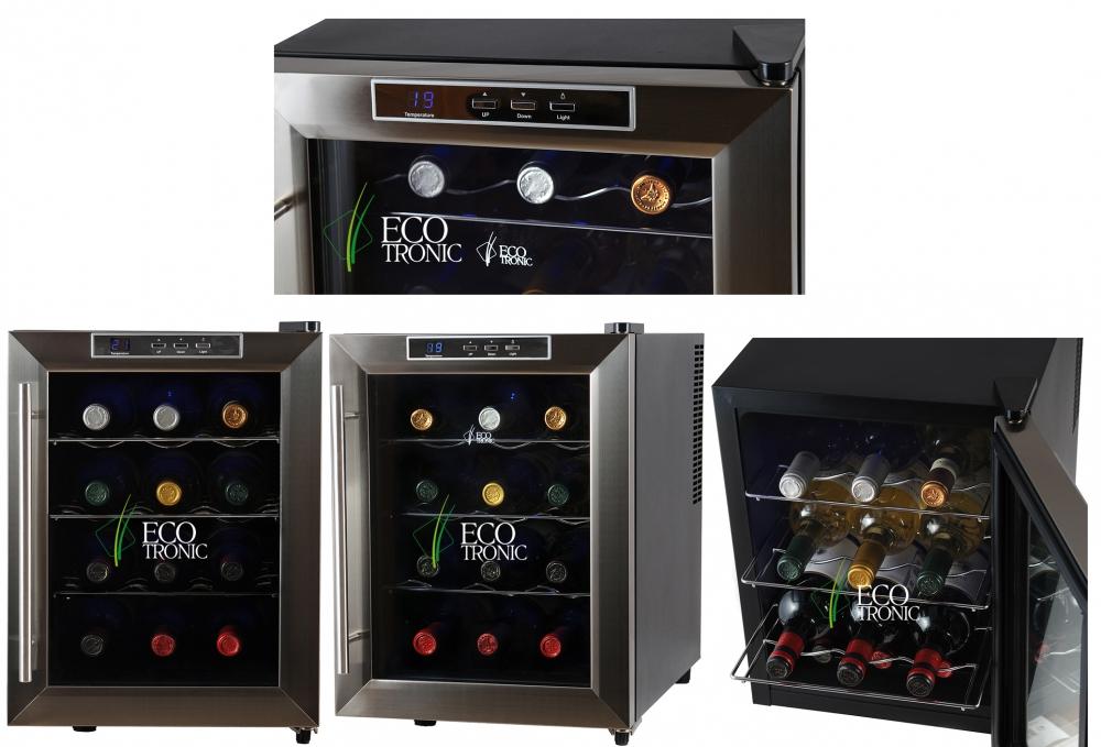 Винный шкаф Ecotronic WCM2-12TE