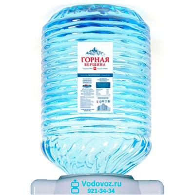 Вода Горная вершина 19 литров в одноразовой таре