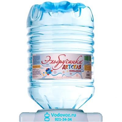 Вода Эльбрусинка 19 литров в одноразовой таре