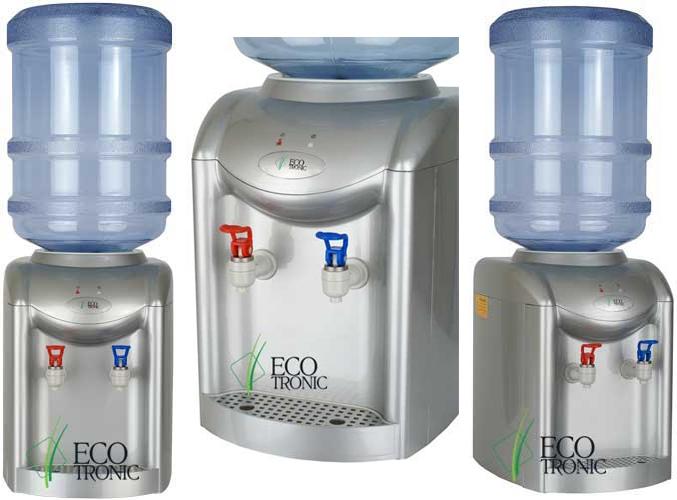 Кулер для воды Ecotronic K1-TE Silver