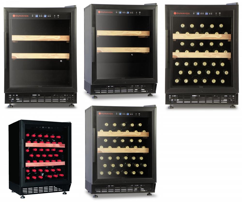 Винный шкаф Dunavox DX-46.103K
