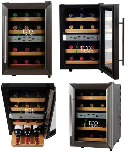 Винный шкаф Ecotronic WCM2-12DTE - 671