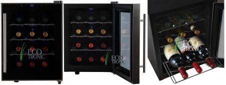 Винный шкаф Ecotronic WCM3-12TE - 670