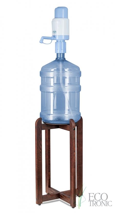 Подставка деревянная разборная (Сосна. Цвет: Венге) - 1182