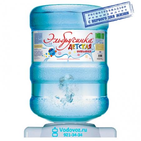 Вода Эльбрусинка 19 литров - 1169