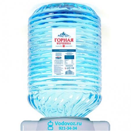 Вода Горная вершина 19 литров в одноразовой таре - 1171