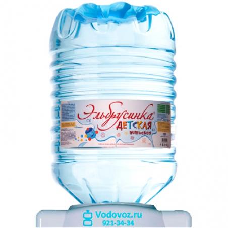 Вода Эльбрусинка 19 литров в одноразовой таре - 1168