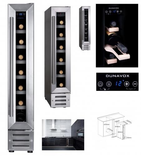 Винный шкаф Dunavox DX-7.22SSK - 767